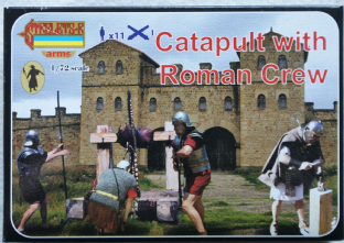 Strelets 1/72 STA009 Catapult with Roman Crew (Ancients)